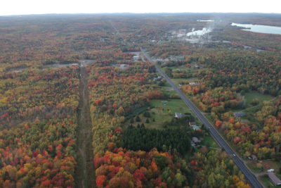 Town of Baileyville, Maine Looking North